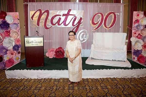 Naty Fernando celebrates her 90th birthday