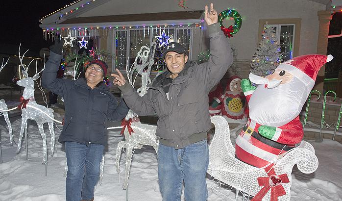 Francisco residence ushers the festive celebration of Christmas