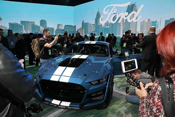 Big reveals at the 2019 North American International Autoshow in Detroit