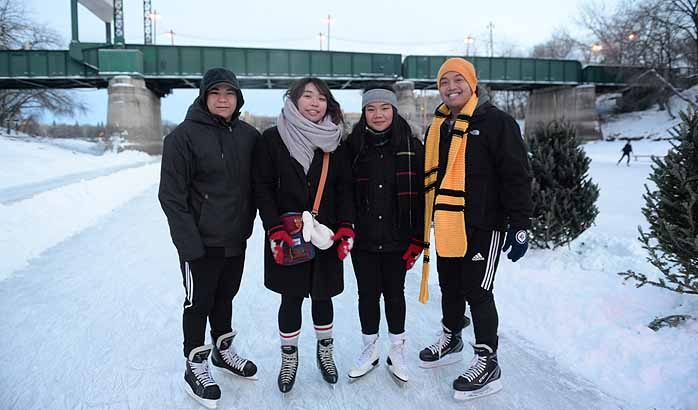 Lace up your skates, The Red River Mutual Trail is now open