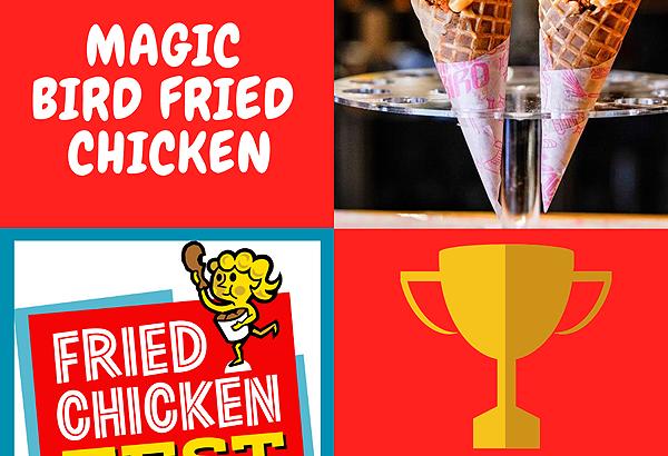 """""""Cone Ranger"""" wins 2019 Fried Chicken Fest"""