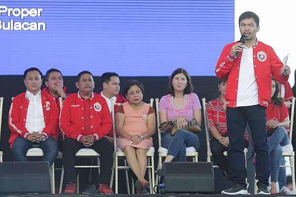 Pacquiao not planning of higher post in 2022