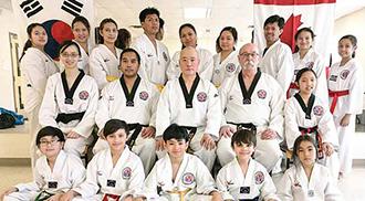 The Filipinos of Spirit 1 Taekwondo Academy