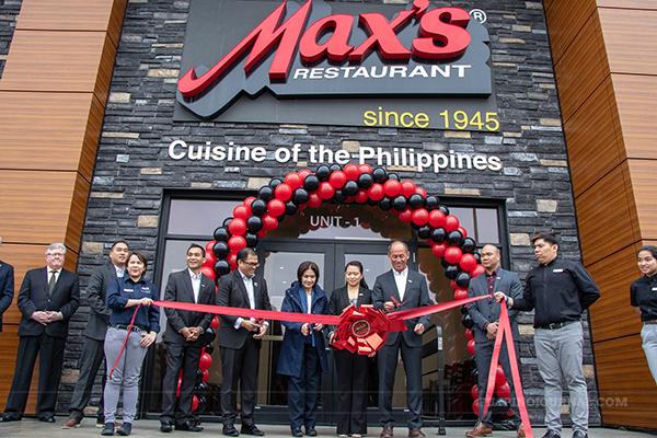 Max's Restaurant Grand Opening Blowout in Winnipeg