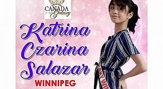 Filipina girl to represent Manitoba at 2019 Canada Galaxy Pageant