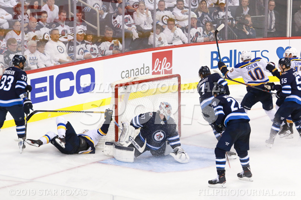Jets Feeling the Blues Out of the Stanley Cup Playoffs