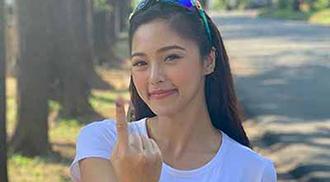Celebrities cast their votes on midterm polls
