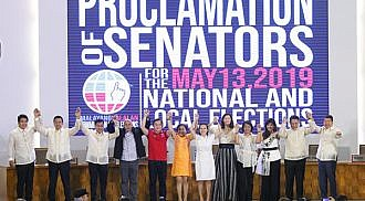 Go, Bato, other winning Senators proclaimed,