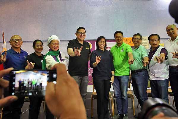 Robredo calls on Filipinos to continue the fight