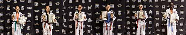 Spirit 1 Taekwondo Takes Home the Hardware