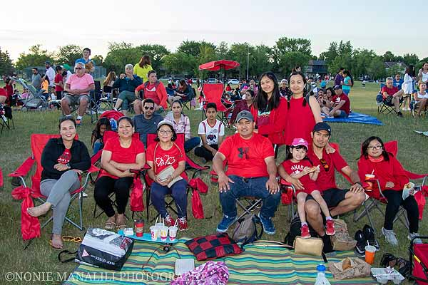 Canada Day at Tyndall Park with Kevin & Cindy Lamoureux
