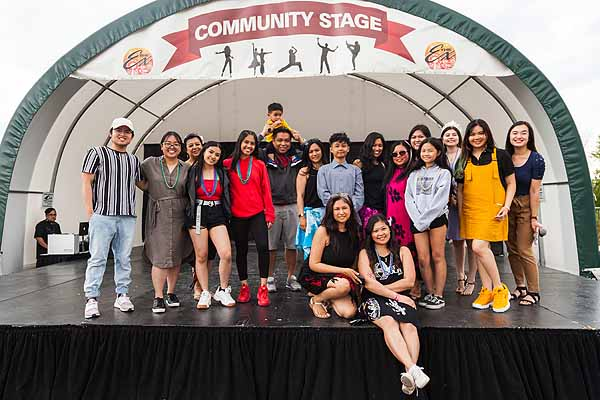 Filipino artists shine on the Red River Community Stage