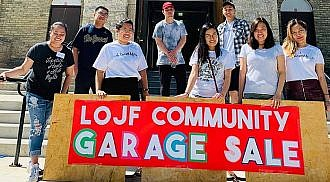 A Fundraising Garage Sale