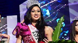 Klyza Castro of Davao City is Mutya ng  Pilipinas Asia Pacific International