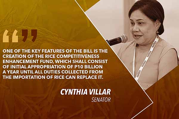 Villar seeks inquiry on disbursement of special fund for rice farmers