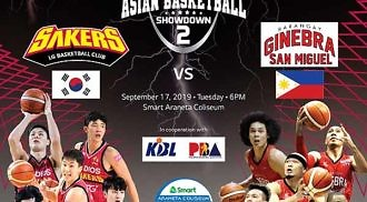 Barangay Ginebra to face Korean team in Asian Basketball Showdown