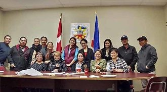 PCCM president Gayot and board members meet Filipino leaders