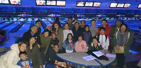 UPAA-MB Inc bowling fundraiser at Chateau Lanes