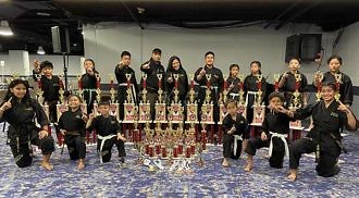 Winnipeg  Sikaran Arnis Academy athletes haul  forty-two awards