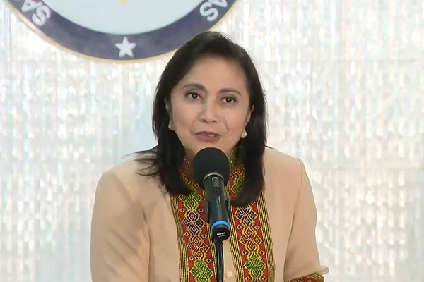 Robredo accepts appointment as co-chair of gov't body vs illegal drugs