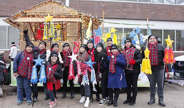 Filipino Christmas spirit alive at the Santa Claus Parade
