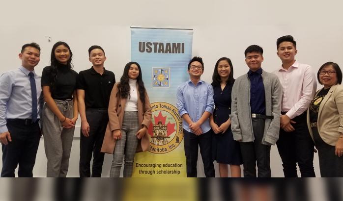 Seven UST Alumni Association scholars receive cash scholarship awards