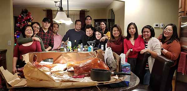 Merry Christmas from RHC 2E Filipino Family