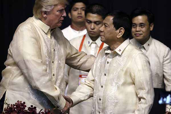 Duterte to side with US if war breaks out