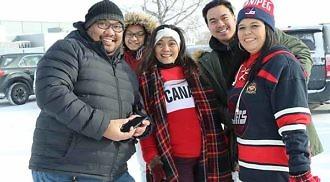 "Winnipeg dances ""Tala"" for Taal Victims"