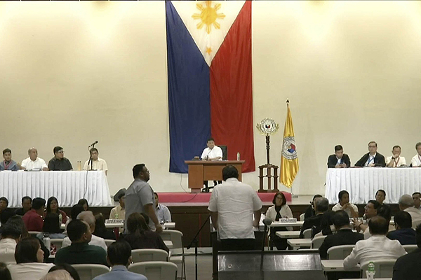 House holds 'symbolic' session in Batangas