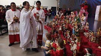 Catholic community celebrates Feast of Santo Niño