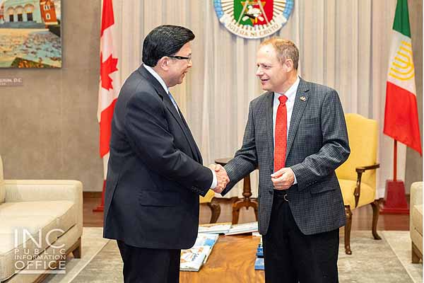 MP Kevin Lamoureux trip to the Philippines