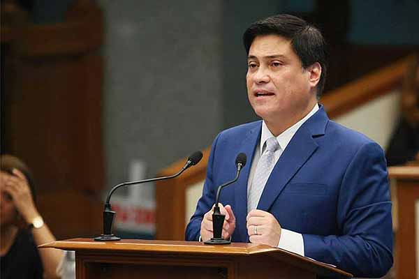 Senator Zubiri says he has the coronavirus