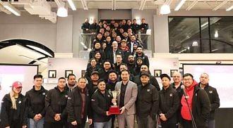 Crown Honda wins CSI Award for three consecutive years: 2017-2018-2019