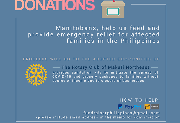 Two Winnipeg Students initiate fundraiser for COVID-19 affected kababayans in the Philippines