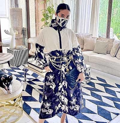 Heart Evangelista adapts to the new normal in fashion