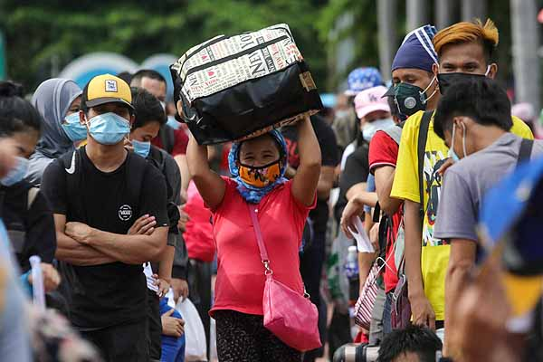 Thousands of Local Stranded Individuals (LSIs) are heading to their hometowns