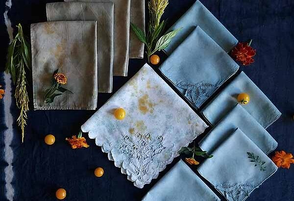 TINTA. Botanical Dyes and Prints, Straight from the Garden
