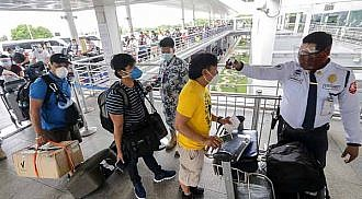 Red Cross stops Covid-19 testing leading to more 4,000 OFWs stranded in Manila