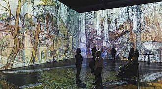Imagine Van Gogh extended until November 30