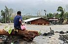 An average of 20 typhoons a year visit the Philippines: billions of pesos lost in properties, crops and lives