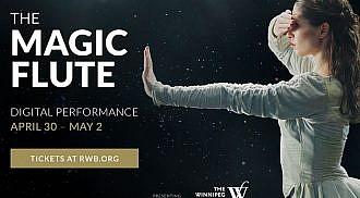 Canada's Royal Winnipeg Ballet (RWB) presents The Magic Flute, COVID Edition