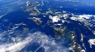 A Glimpse of the Philippine Archipelago from Space