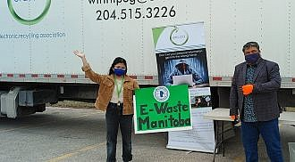 Drive-thru E-Waste Collection Draws Large Turnout