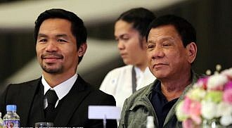 Pacquiao, not after the President but the government corrupt officials