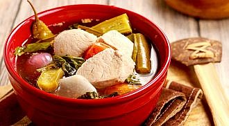 """""""Best Rated"""" vegetable soup in the world, Philippine Sinigang"""
