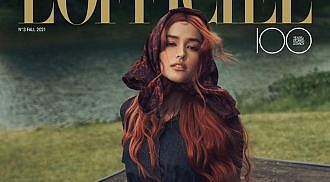 "Liza ""Reinvented"" as a fiery redhead"