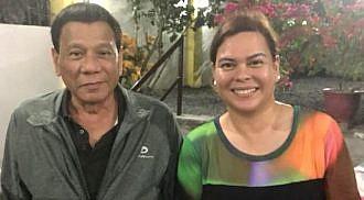 Sara Duterte backs father's 2022 VP bid